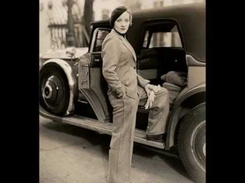 Marlene Dietrich, Handsome in Pants.