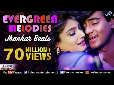 Evergreen Melodies - Jhankar Beats | 90'S Romantic Love Songs | JUKEBOX | Hindi Love Songs