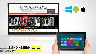 Apresentação do Display Interativo Touch com MeetingPad