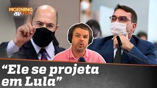 Wilson Witzel bate-boca com Flávio Bolsonaro e abandona CPI