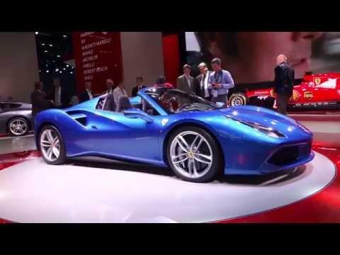 FRANCFORT 2015 Ferrari 488 Spider AUTOMOTO