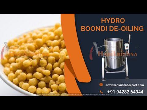 Boondi  Oil Dryer