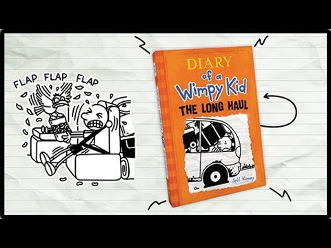 Booktopia the long haul diary of a wimpy kid book 9 by jeff watch a video take a look inside solutioingenieria Image collections