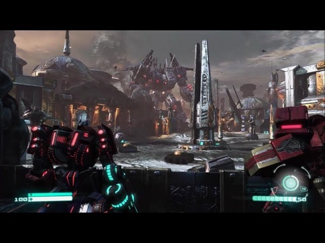 Activision demos COD Black Ops 2, Transformers Fall of Cybertron and