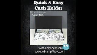 Make this quick Cash Holder!