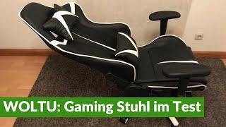 WOLTU: Gaming Stuhl im Test + Aufbau (vollständiger Testbericht)
