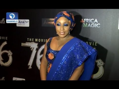 EN: Rita Dominic Dazzles At Nigerian Premiere Of '76