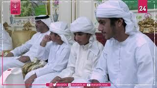 محمد بن زايد يزور خلفان مطر الرميثي