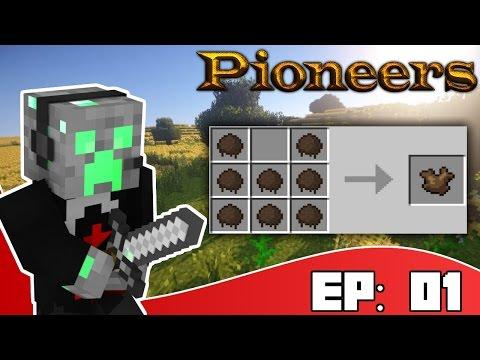 NEW BEGINNINGS l Minecraft: Pioneers  [Ep:01] (1.8.9 Modded Survival)