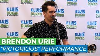 """Brendon Urie - """"Victorious"""" Acoustic   Elvis Duran Exclusive"""