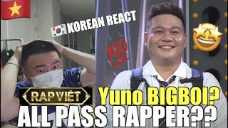 🇻🇳🇰🇷🔥[EXCLUSIVE!]Korean Hiphop Junkie react to Yuno BIGBOI - RAP VIỆT (PERFORMANCE) (VNM/ENG SUB)