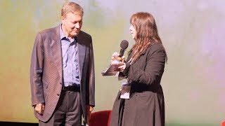 Dana Gioia Interview with Kimy Martinez and receiving Visionary Award From Cinequest at the Californ