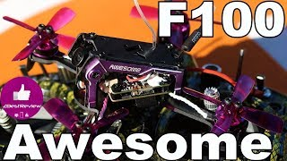 ✔ Микро FPV Квадрокоптер - Awesome F100 (ASUAV F100)! Gearbest!