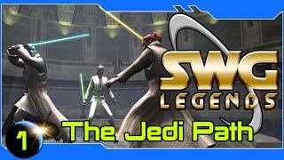 SWG Legends - The Jedi Path - Star Wars Galaxies Jedi Gameplay - Part 1