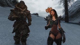 Skyrim mods Skaal Heavy Armor and Sofia