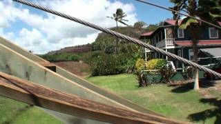 preview picture of video 'Hanapepe Swinging Bridge, Kauai'