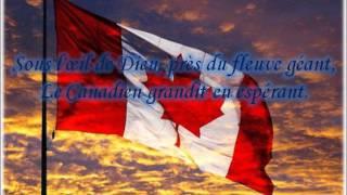 National anthem of Canada + lyric