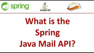 What is the Spring Java Mail API?