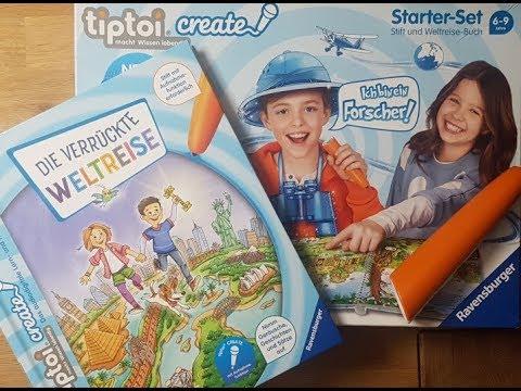 Vorstellung: Tiptoi Create Starter-Set mit Weltreisebuch
