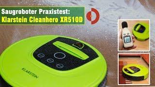 Klarstein Cleanhero Saugroboter XR510Dl Test Teil1