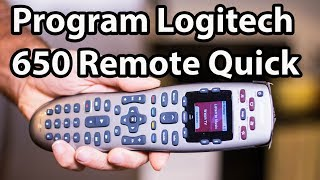 Programming Your Logitech Remote Control to Any DEVICE