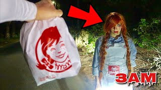 DO NOT GO TO WENDY'S AT 3AM!! *OMG SHE ACTUALLY CHASED ME*