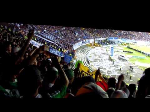 """Nacion Verdolaga. Millonarios 0 - Nacional 2"" Barra: Nación Verdolaga • Club: Atlético Nacional"