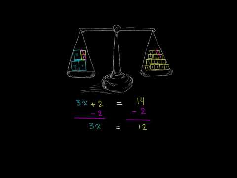 الصف السابع الرياضيات التعابير والمعادلات والمتباينات تمرين على المعادلات ذات الخطوتين ا