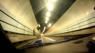 preview picture of video 'Bridgeport Mazda RX7 in Dartford Tunnel'