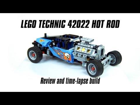 Vidéo LEGO Technic 42022 : Le Hot Rod