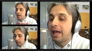 How To Sing a cover of Ask Me Why Beatles Vocal Harmony