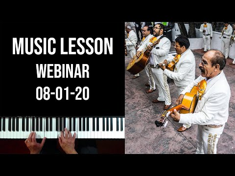 Lessons with Carlos (Webinar 08-01-20)