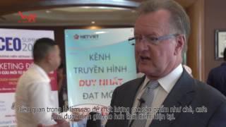 Phỏng vấn Giáo sư John A.Quelch tại Hội nghị VN CEO SUMMIT 2016