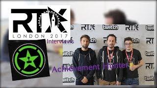 RTX London 2017 Interviews | Achievement Hunter
