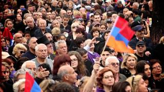 April 24, 2015 Los Angeles Armenian Genocide Commemoration March for Justice