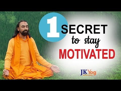 The ONE Secret To Stay Motivated Always | Swami Mukundananda