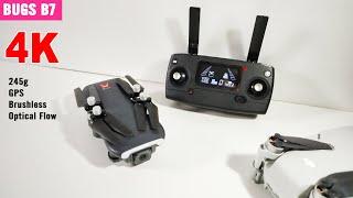Rp 2jtan MJX Bugs B7 4K GPS Brushless Lipat Sensor ala Mavic Mini ala Fimi X8SE - REVIEW PART 1