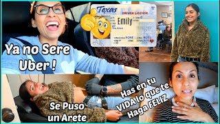 Emily Ya Tiene Licencia de Conducir 🚗 Se Puso un arete en el Ombligo 🤯 - ♡IsabelVlogs♡