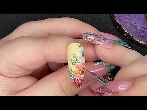 Pastel Spring Nail Art