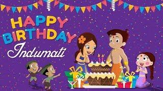 Chhota Bheem - Rajkumari Indumati ka Janamdin   Happy Birthday Indumati