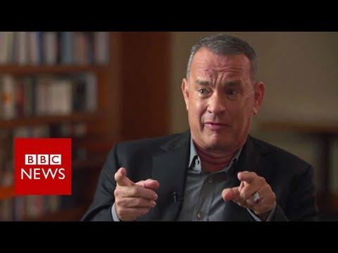 Tom Hanks on Harvey Weinstein - BBC News