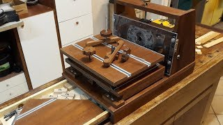 Mortasatrice Orizzontale (horizontal Router Table)