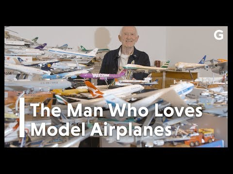 A Lifelong Love With Flight Led To This Man's Record-Breaking Collection Of Model Aeroplanes