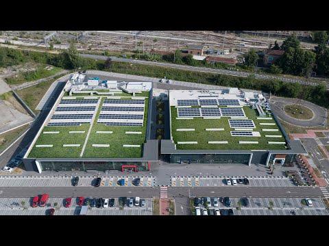 Geoplast Lösung für Dachgärten