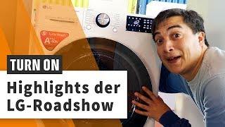 8K-OLED-TVs und smarte Waschmaschinen – die LG-Roadshow 2019