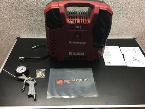 Einhell Kompressor TH-AC 190 Kit ►► TEST ►► ✅✅♥♥