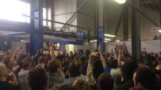 preview picture of video 'Leeds United Supporters Singing Before The Game: Birmingham City 1-3 Leeds United 26 04 2014'