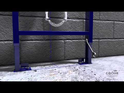 Инсталляция для подвесного унитаза Grohe Rapid SL (38750001) (комплект 4 в 1) 3