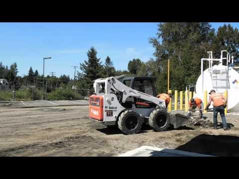 Rainier Asphalt & Concrete paving promo