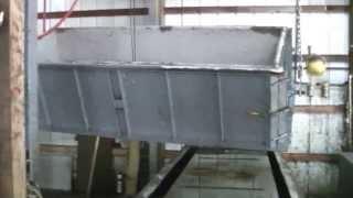 concrete burial vault breakout process